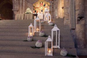 strelitzia piante e fiori decorazione chiesa visit colledivaldelsa