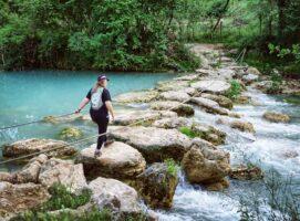attraversamento parco fluviale dell elsa sentierelsa visit colle di val d elsa borgo medievale toscana