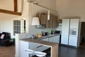 Palazzo Luparelli Boutique Apartment cucina Visit Colle di Val dElsa
