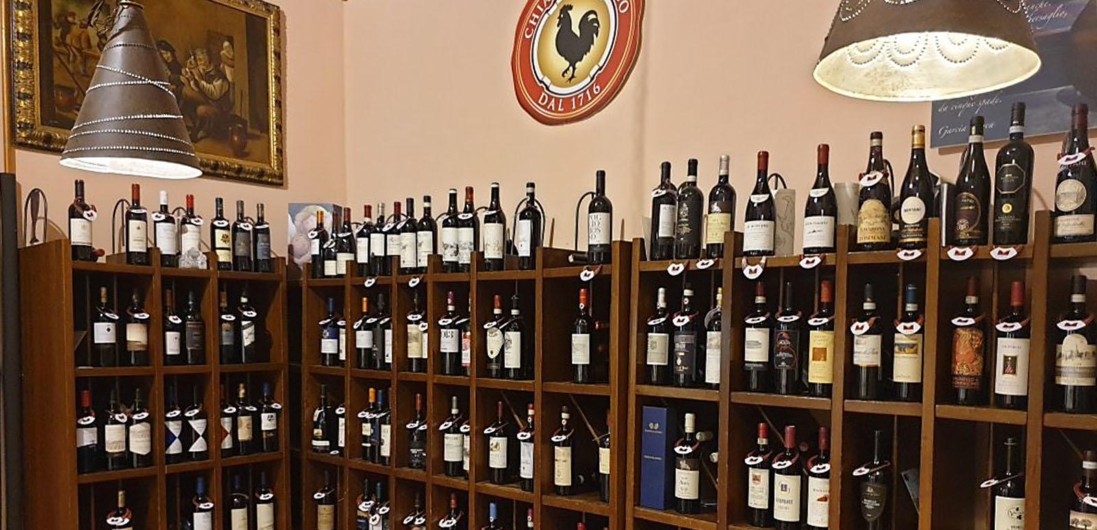 Enoteca Il Salotto vini pregiati visit Colle di Val dElsa