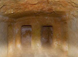 Parco Archeologico di Dometaia tomba visit Colle di Val dElsa borgo medievale Toscana
